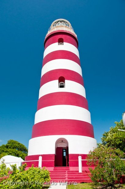 The Candy Striped Lighthouse, Hope Town Abaco