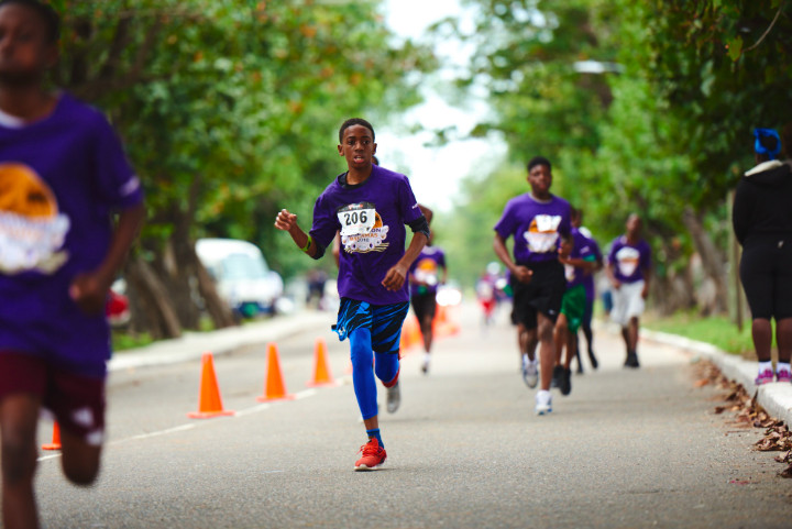Students Run Marathon Bahamas