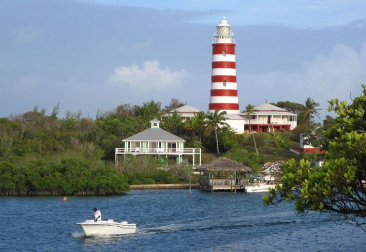The Candy-Striped Lighthouse, Hopetown Abaco